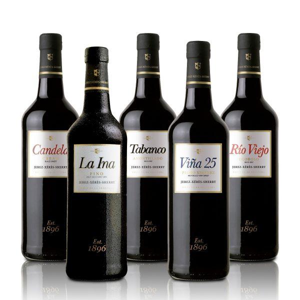 paquete botellas de Jerez Ucero